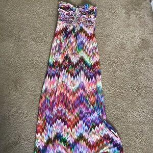 Sky Multi-Colored Maxi Dress